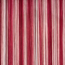 Кисея шторы, радуга красный, розовый, молочный TT-308