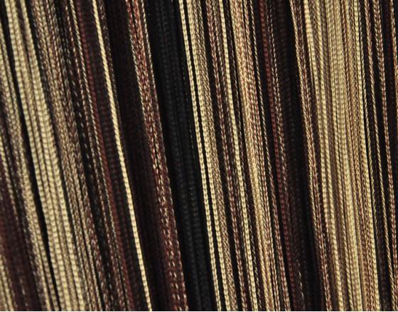 Нити шторы, радуга венги, коричневый, бежевый TT-309