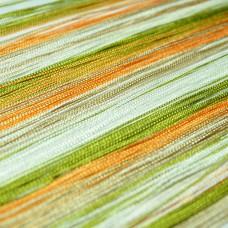 Кисея радуга зеленый, оранжевый, бежевый, белый TT-310