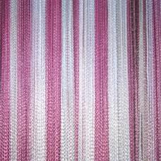 Кисея радуга розовый, нежно-розовый, белый TT-311