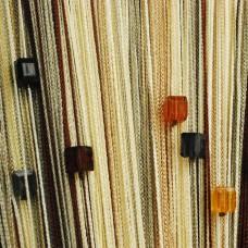 Нитяные шторы радуга с кубиками TT-805