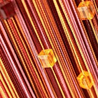 Нитяные шторы радуга с кубиками TT-808