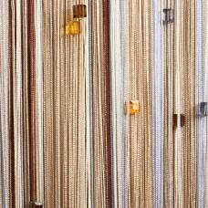 Нитяные шторы радуга с кубиками TT-809