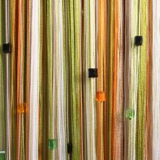 Нитяные шторы радуга с кубиками TT-811