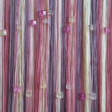 Нитяные шторы радуга с кубиками TT-812