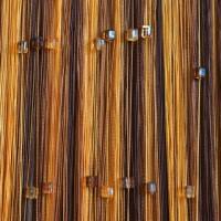 Нитяные шторы радуга с кубиками TT-813