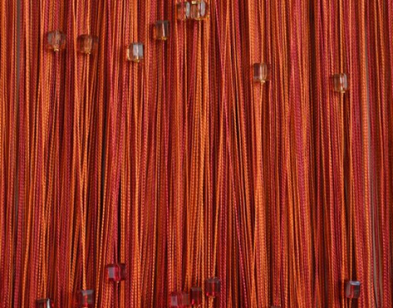 Нитяные шторы радуга с кубиками TT-816