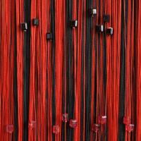 Нитяные шторы радуга с кубиками TT-817