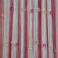 Нитяные шторы радуга с кубиками TT-819