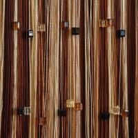 Нитяные шторы радуга с кубиками TT-820