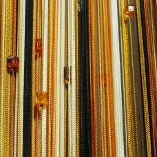 Нитяные шторы радуга с кубиками TT-821