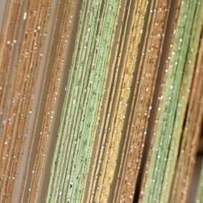 Шторы нитяные радуга с люрексом TT-0602
