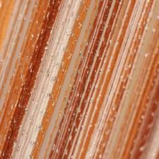 Шторы нитяные радуга с люрексом TT-0610