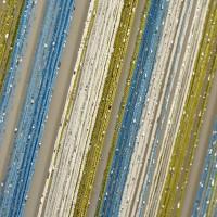 Шторы нитяные радуга с люрексом TT-0618