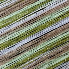 Шторы нитяные радуга с люрексом TT-0622