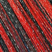 Шторы нитяные радуга с люрексом TT-0629