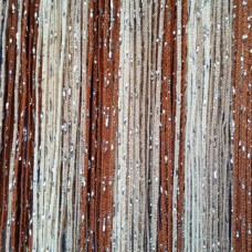 Шторы нитяные радуга с люрексом TT-0630