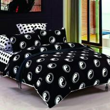 Комплект постельного белья черно белое Black&White B-1006