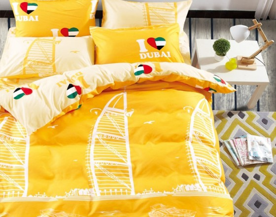 Комплекты постельного белья города TENCEL H-902