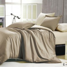 Однотонное постельное белье TENCEL E-003