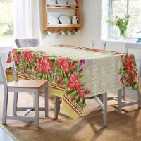 Скатерть на стол из рогожки Бонжур