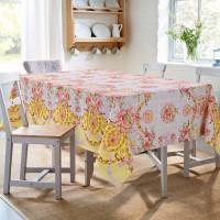 скатерть на стол для кухни из рогожки  Донна