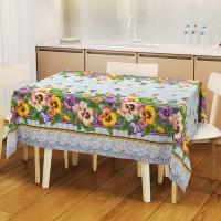 Скатерть на стол для кухни из рогожки  Кармелита