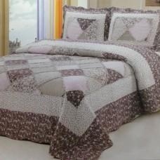 Хлопковое покрывало на кровать с наволочками QW-248