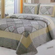 Хлопковое покрывало на кровать с наволочками QW-255