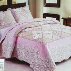 Пэчворк покрывало на кровать с наволочками QW-203
