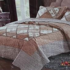 Хлопковое покрывало на кровать с наволочками QW-200