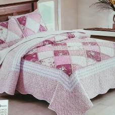 Хлопковое покрывало на кровать с наволочками QW-214