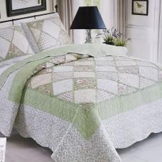 Хлопковое покрывало на кровать с наволочками QW-223