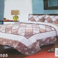 Хлопковое покрывало на кровать с наволочками QW-278