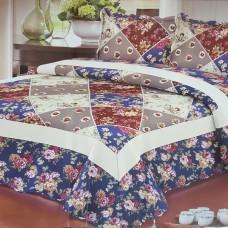 Хлопковое покрывало на кровать с наволочками QW-276