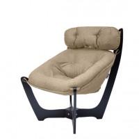 Кресло для отдыха модель 11 каркас Венге ткань Montana-904