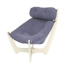 Кресло для отдыха модель 11 каркас Дуб шампань ткань Verona Denim Blue