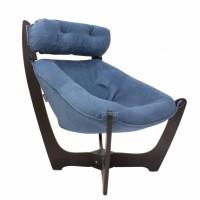 Кресло для отдыха модель 11 каркас Венге ткань Verona Denim Blue