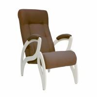 Кресло для отдыха модель 51 каркас Дуб шампань ткань Verona Brown
