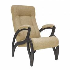 Кресло для отдыха модель 51 каркас Венге ткань Мальта-03