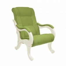 Кресло для отдыха модель 71 каркас Дуб шампань ткань Verona Apple Green