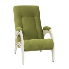 Кресло для отдыха модель 41 каркас Дуб шампань ткань Verona Apple Green