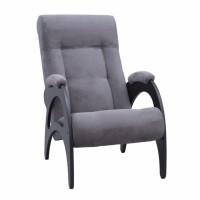 Кресло для отдыха модель 41 каркас Венге ткань Verona Antrazite Grey без лозы