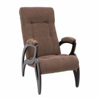 Кресло для отдыха модель 51 каркас Венге ткань Verona Brown