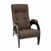 Кресло для отдыха модель 41 каркас Венге ткань Мальта-15
