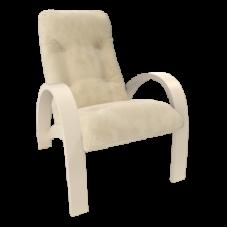Кресло для отдыха модель S7 каркас Дуб шампань ткань Verona Vanilla