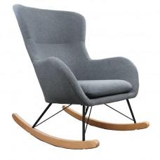 Кресло-качалка LESET SHERLOCK KR908-17 Серый