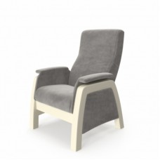 Кресло глайдер модель Balance-1 каркас дуб шампань ткань Verona Light Grey