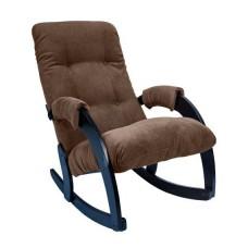 Кресло-качалка модель 67 каркас Венге ткань Verona Brown