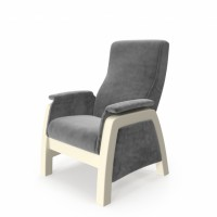 Кресло глайдер модель Balance-1 каркас дуб шампань ткань Verona Antrazite Grey